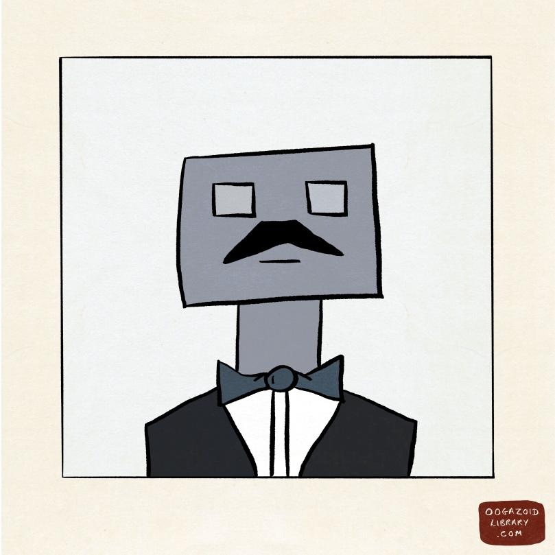 Robot Butler 1 Servin Dinner Breakin Hearts The Oogazoid Library